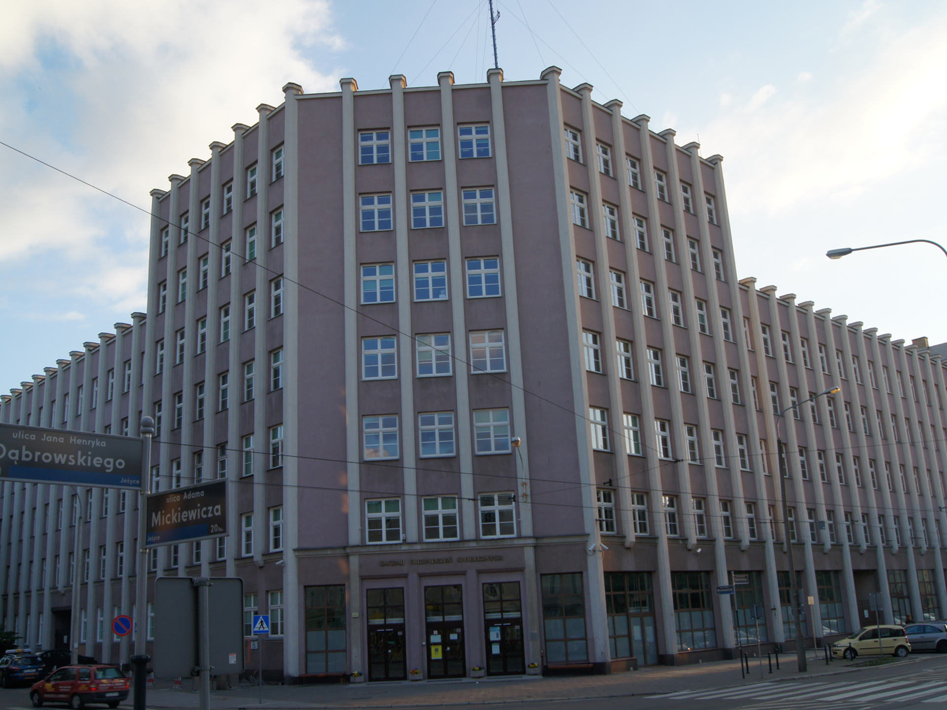 budynek zusu 345